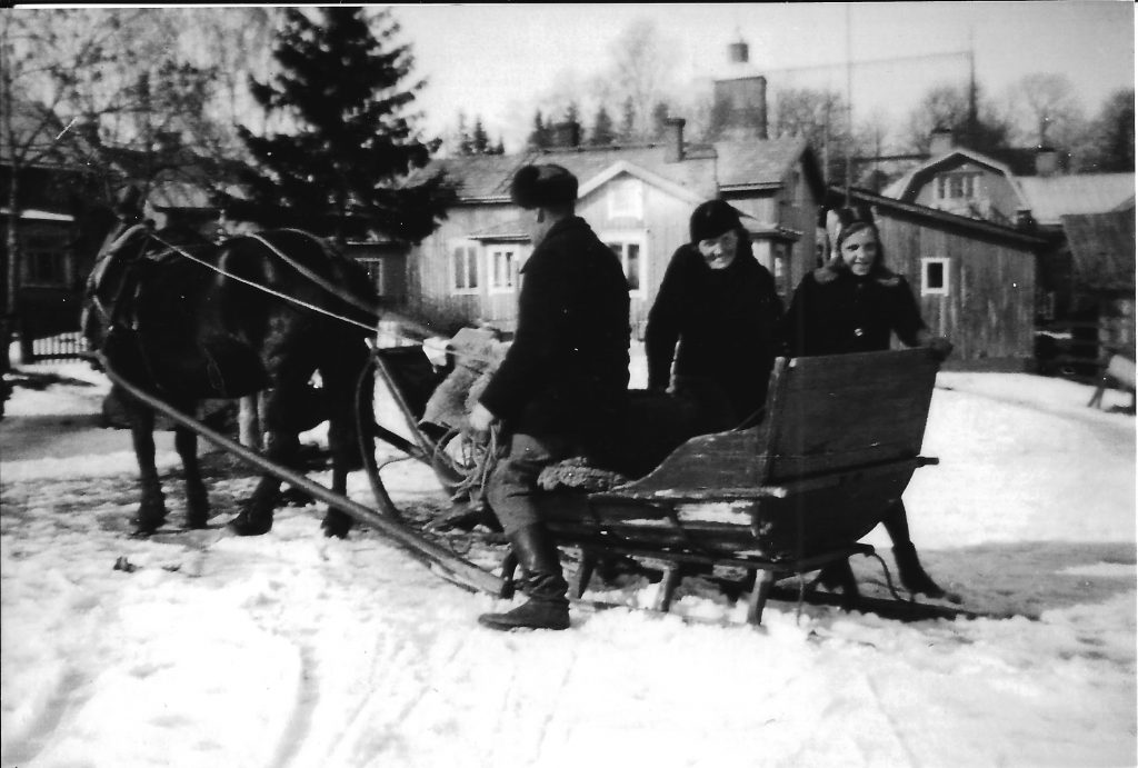 kyrksläde 1940